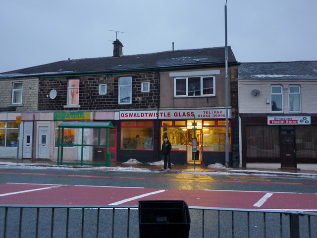 Oswaldtwistle Glass, Union Street, Oswaldtwistle