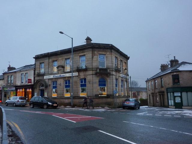 Former bank on Union Street, Oswaldtwistle