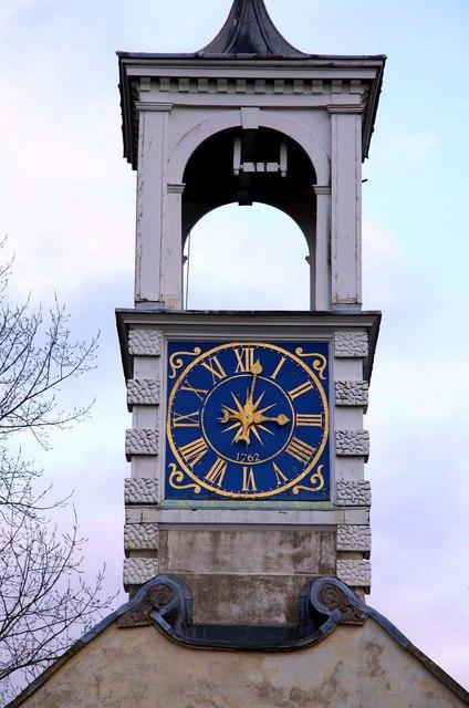 Clock on St Katherine's Church