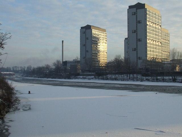 Frozen River Clyde