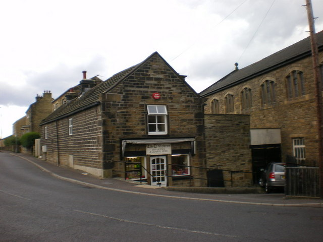 L&D Vickers, General Store, Low Lane, Birstall
