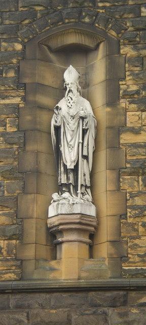 Old St Patrick's Church, Birstall, Statue
