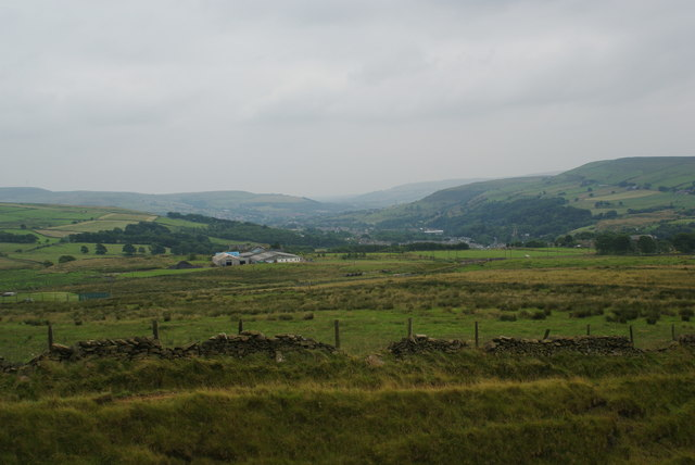 The hillside above Goodshaw
