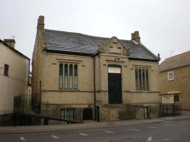 National school c1848, Bradford Road, Batley
