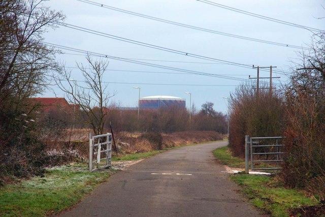 Bridleway to Blackbird Leys