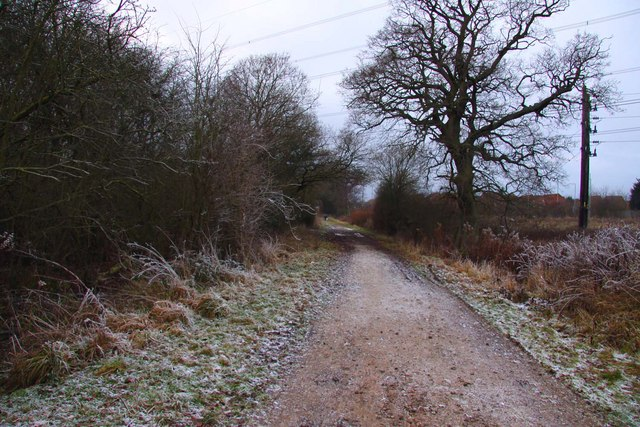 Footpath at Greater Leys