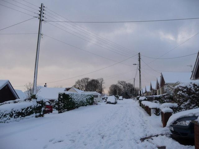 Tiverton : Churchill Road