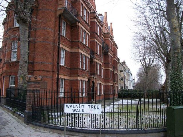 Mansion Blocks in Kennington Lane