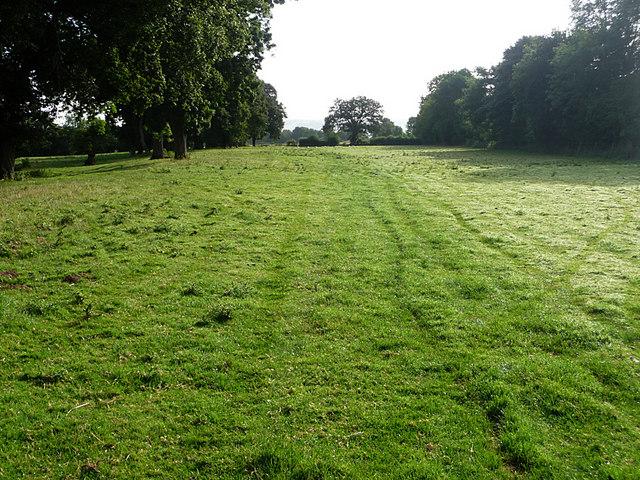 Footpath in Bucknell