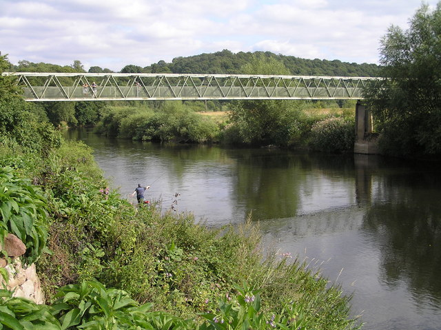 River Severn,Upper Arley footbridge