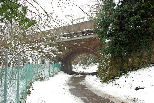 Bridge under Balcombe station
