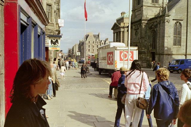 High Street, Edinburgh, 1984