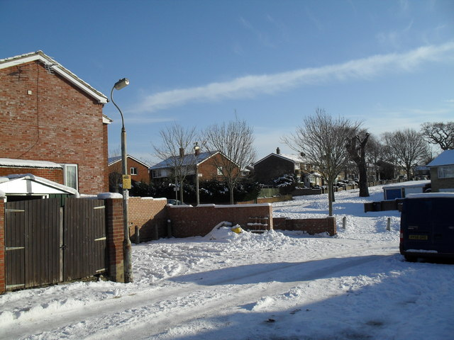 Heavy snow in West Leigh (7)