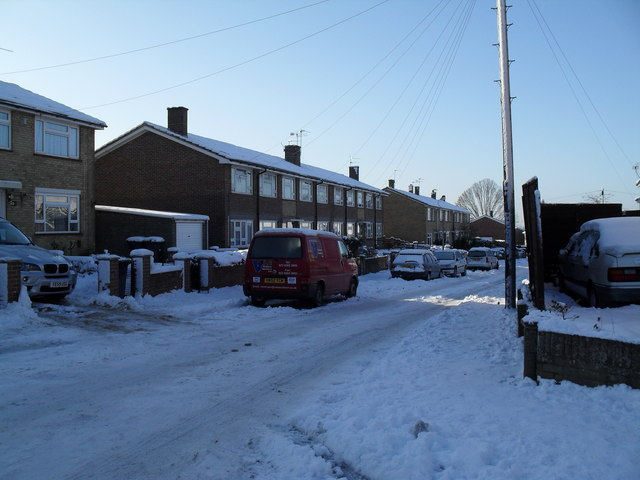 Heavy snow in West Leigh (8)