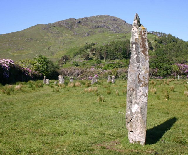 Stone Circle at Lochbuie, Isle of Mull