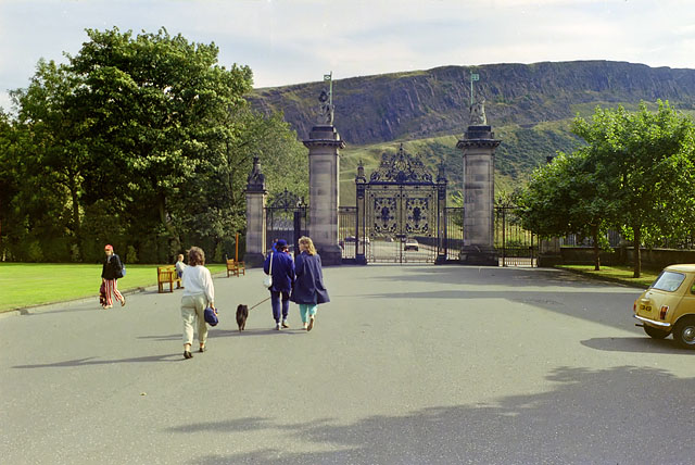 Gates, Holyroodhouse, 1984
