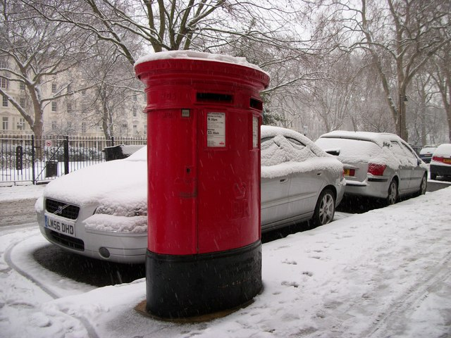 Post Box in St George's Square