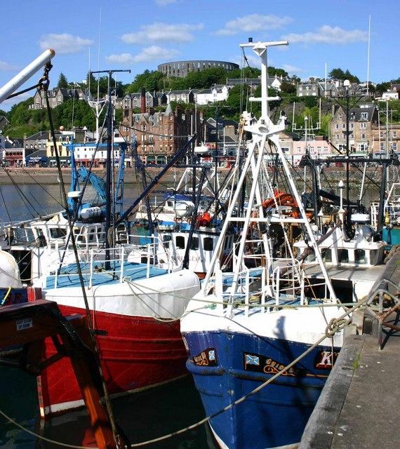 Fishing Trawlers in Oban Harbour