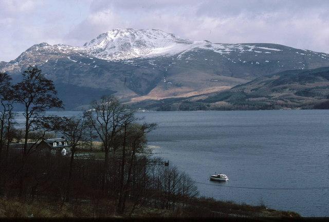 Cùlag on Loch Lomond