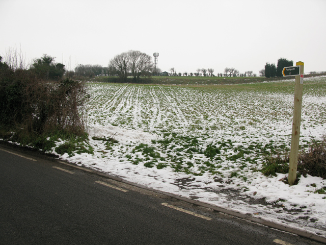Beacon Hill from Marshborough Road