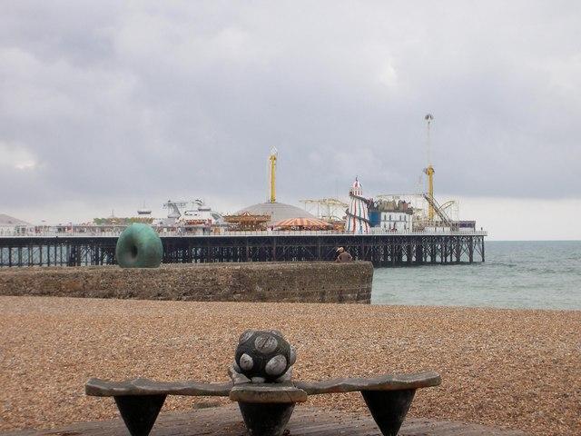 The Famous Brighton Pier Fun Fair