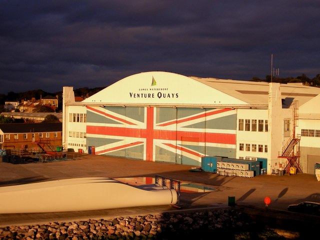 Venture Quays Building East Cowes Isle of Wight