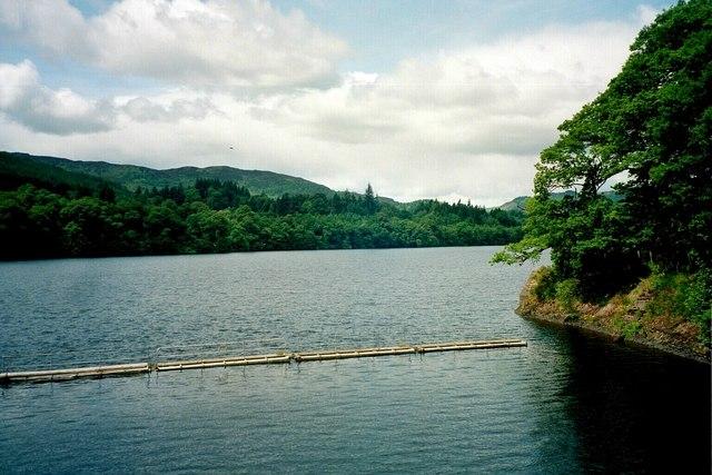 Pitlochry, Loch Faskally seen from Dam