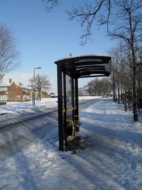 Prospect Lane bus shelter