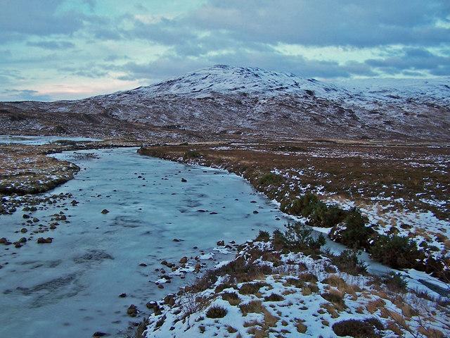 River Sligachan in winter