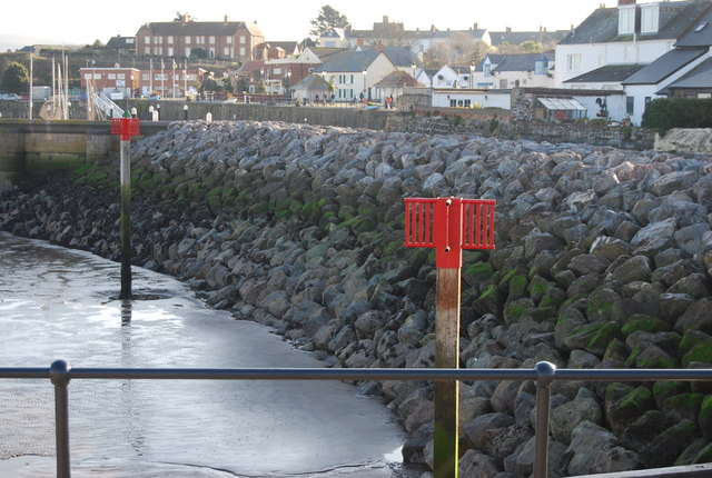 Rip Rap, Watchet Harbour