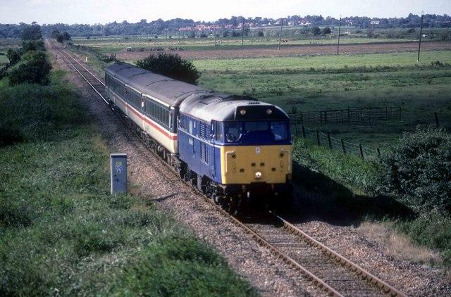 Yarmouth bound train