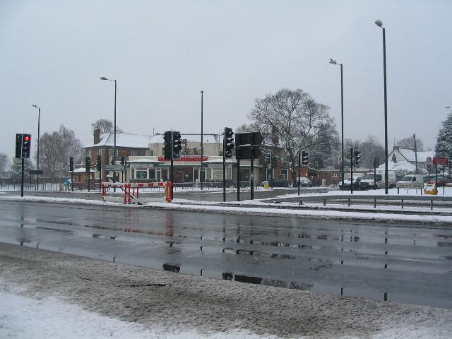 Broad Lane crossing, A45