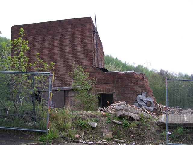 Ruined Building, Limestone Cottage Lane, Sheffield
