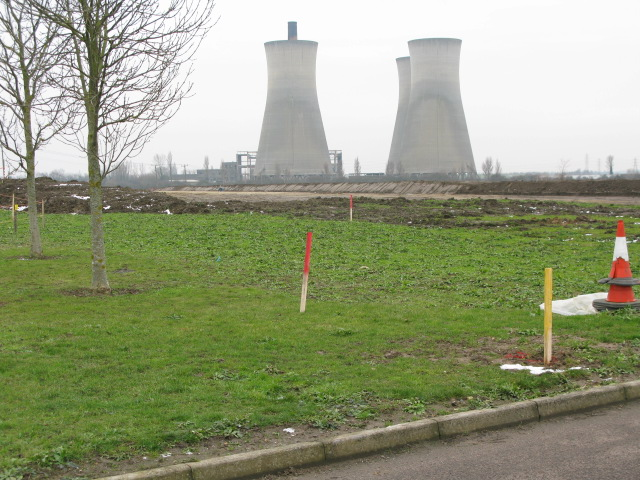Ground works for new road scheme