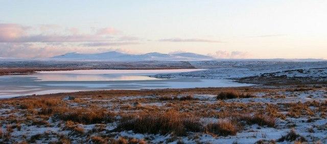 Loch Urrahag with Barvas Hills behind