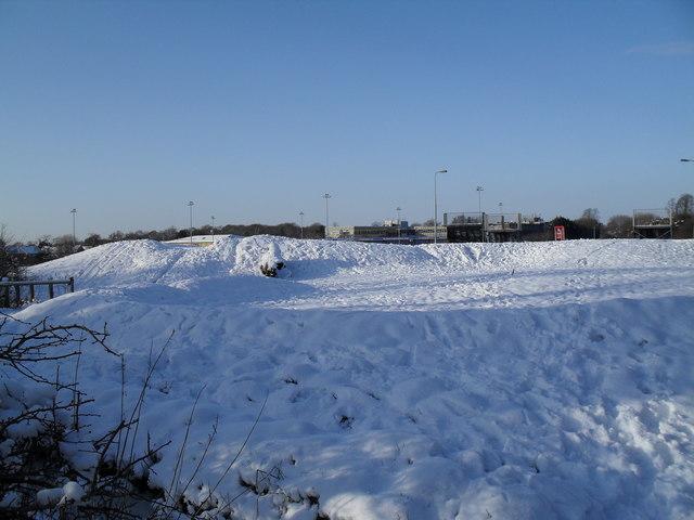 Heavy snow in Martin Road