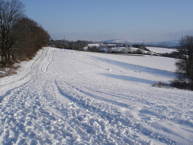 View toward the South Downs