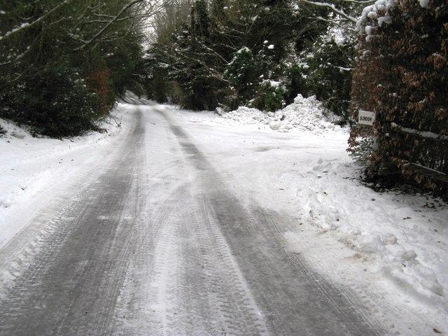 Road junction in Madehurst