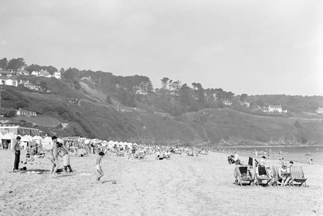 Carbis Bay beach, 1966