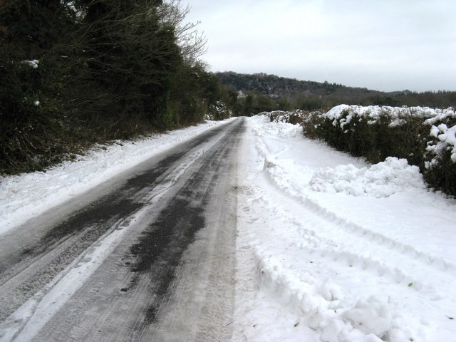 Road from Madehurst to the A29