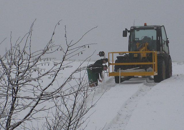 Probing the frozen ground