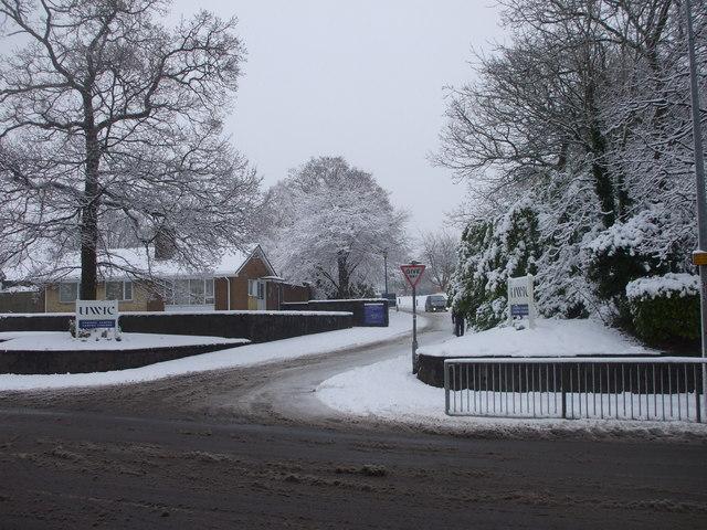 Entrance to UWIC, Cyncoed Rd, Cardiff