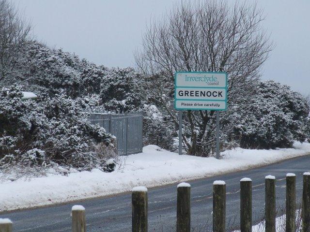 Greenock boundary