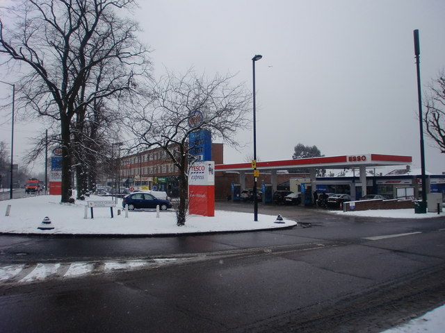 Tesco Express/Esso Petrol Station, London N14