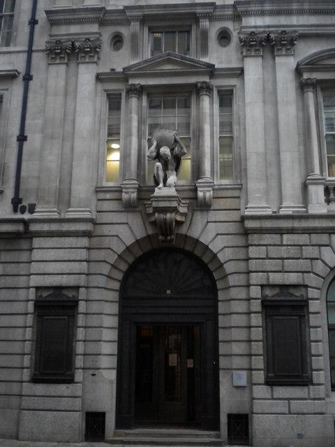 Entrance to Atlas House, King Street EC2
