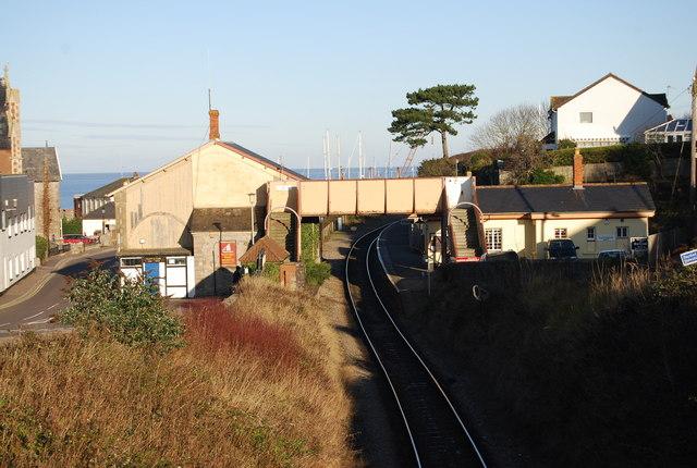 Footbridge, Watchet Station