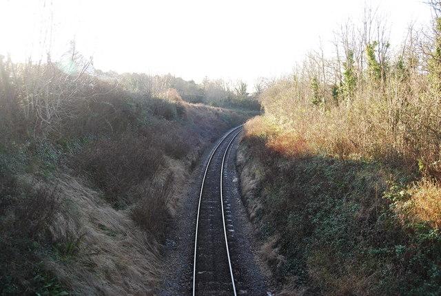 West Somersrt Railway near Watchet