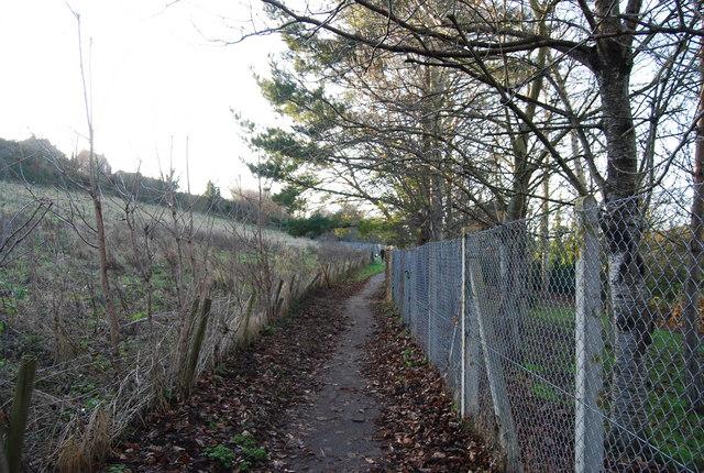 Footpath to St Decumans