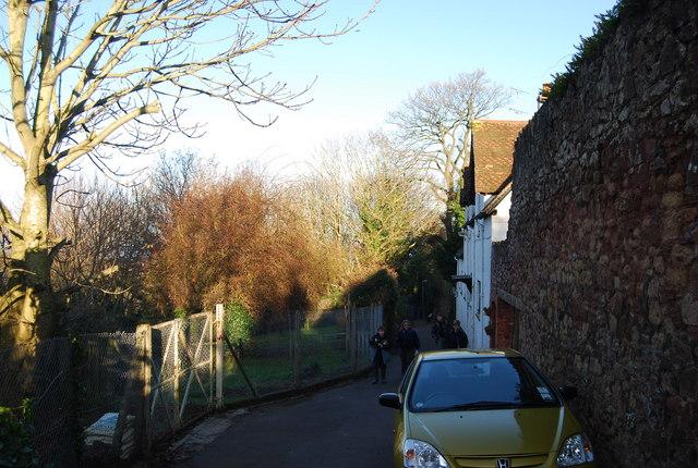 Footpath from Watchet, St Decumans