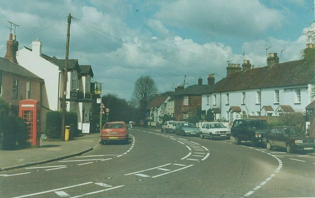 The Green Man at Widford: 1997